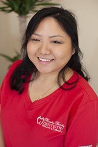 Dental assistant Ashley
